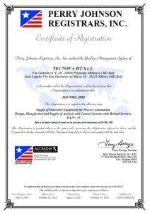 TECNOVA HT ISO 9001_2008 ENG